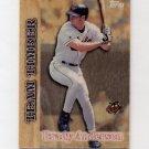 1997 Topps Baseball Team Timber #TT09 Brady Anderson - Baltimore Orioles