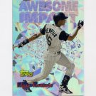 1997 Topps Baseball Awesome Impact #AI15 Edgar Renteria - Florida Marlins