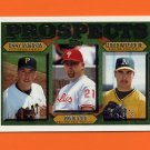 1997 Topps Baseball #492 Jimmy Anderson RC / Ron Blazier / Gerald Witasick Jr.