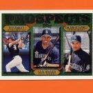 1997 Topps Baseball #491 Jeff Abbott / Shane Monahan / Edgard Velazquez