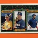 1997 Topps Baseball #487 Mark Bellhorn / Russ Johnson / Enrique Wilson