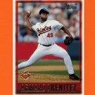 1997 Topps Baseball #484 Armando Benitez - Baltimore Orioles