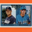 1997 Topps Baseball #483 Mark Johnson RC / Mark Kotsay RC