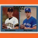 1997 Topps Baseball #481 Kris Benson RC / Billy Koch RC
