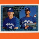 1997 Topps Baseball #480 Joe Lawrence RC / Pete Tucci RC - Toronto Blue Jays