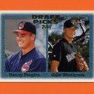 1997 Topps Baseball #478 Danny Peoples RC / Jake Westbrook RC