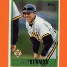 1997 Topps Baseball #476 Trey Beamon - Pittsburgh Pirates