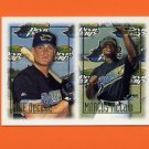 1997 Topps Baseball #472 Mike DeCelle RC / Marcus McCain RC - Tampa Bay Devil Rays