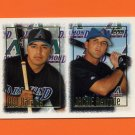 1997 Topps Baseball #469 Rod Barajas RC / Jackie Rexrode RC - Arizona Diamondbacks