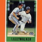 1997 Topps Baseball #461 Larry Walker - Colorado Rockies