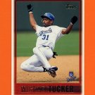 1997 Topps Baseball #453 Michael Tucker - Kansas City Royals