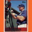 1997 Topps Baseball #446 John Jaha - Milwaukee Brewers
