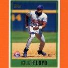 1997 Topps Baseball #444 Cliff Floyd - Montreal Expos