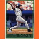 1997 Topps Baseball #443 Quinton McCracken - Colorado Rockies