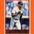 1997 Topps Baseball #436 Marc Newfield - Milwaukee Brewers