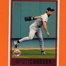 1997 Topps Baseball #435 Marty Cordova - Minnesota Twins