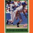 1997 Topps Baseball #433 Vladimir Guerrero - Montreal Expos