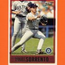 1997 Topps Baseball #423 Paul Sorrento - Seattle Mariners