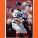 1997 Topps Baseball #409 Jose Rosado - Kansas City Royals