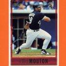 1997 Topps Baseball #407 Lyle Mouton - Chicago White Sox