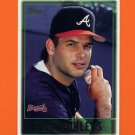 1997 Topps Baseball #404 Mark Wohlers - Atlanta Braves