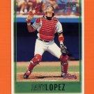 1997 Topps Baseball #395 Javy Lopez - Atlanta Braves
