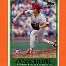 1997 Topps Baseball #368 Curt Schilling - Philadelphia Phillies