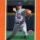 1997 Topps Baseball #361 Bobby Jones - New York Mets