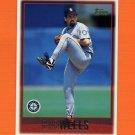 1997 Topps Baseball #357 Bob Wells - Seattle Mariners