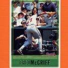 1997 Topps Baseball #352 Fred McGriff - Atlanta Braves