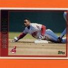 1997 Topps Baseball #350 Kenny Lofton - Cleveland Indians