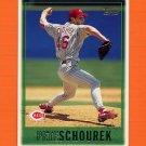 1997 Topps Baseball #349 Pete Schourek - Cincinnati Reds