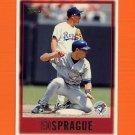 1997 Topps Baseball #345 Ed Sprague - Toronto Blue Jays