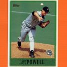 1997 Topps Baseball #339 Jay Powell - Florida Marlins
