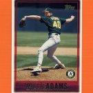 1997 Topps Baseball #337 Willie Adams - Oakland A's