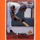 1997 Topps Baseball #333 Eddie Murray - Baltimore Orioles
