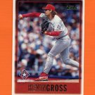 1997 Topps Baseball #328 Kevin Gross - Texas Rangers