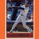 1997 Topps Baseball #322 Mark Whiten - Seattle Mariners