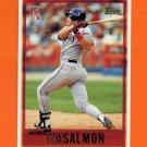 1997 Topps Baseball #320 Tim Salmon - California Angels