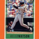 1997 Topps Baseball #314 Allen Watson - San Francisco Giants