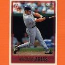 1997 Topps Baseball #306 George Arias - California Angels