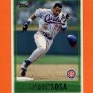 1997 Topps Baseball #305 Sammy Sosa - Chicago Cubs