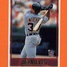 1997 Topps Baseball #304 Mel Nieves - Detroit Tigers