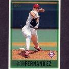 1997 Topps Baseball #299 Sid Fernandez - Philadelphia Phillies
