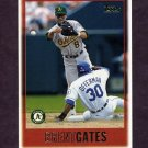 1997 Topps Baseball #296 Brent Gates - Oakland A's