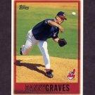 1997 Topps Baseball #286 Danny Graves - Cleveland Indians