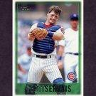 1997 Topps Baseball #284 Scott Servais - Chicago Cubs