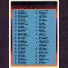 1997 Topps Baseball #276 Checklist