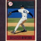 1997 Topps Baseball #256 Mariano Rivera - New York Yankees