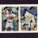 1997 Topps Baseball #253 Ronnie Seberino RC / Pablo Ortega RC - Tampa Bay Devil Rays